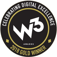 W3 Awards 2018 Gold Winner
